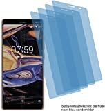 4x Crystal clear klar Schutzfolie für Nokia 7 plus Displayschutzfolie Bildschirmschutzfolie Schutzhülle Displayschutz Displayfolie Folie