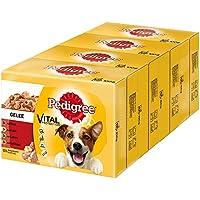Pedigree Vital Protection Hundefutter mit Rind, Huhn und Lamm in Gelee, 48 Beutel (48 x 100 g)