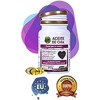 Aceite de Chía para la salud de nuestro organismo - Complemento alimenticio de cápsulas de chía