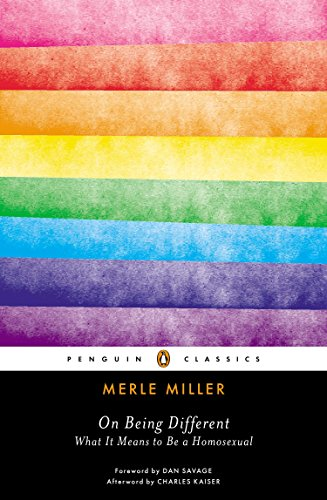 On Being Different: What It Means to Be a Homosexual (Penguin Classics)