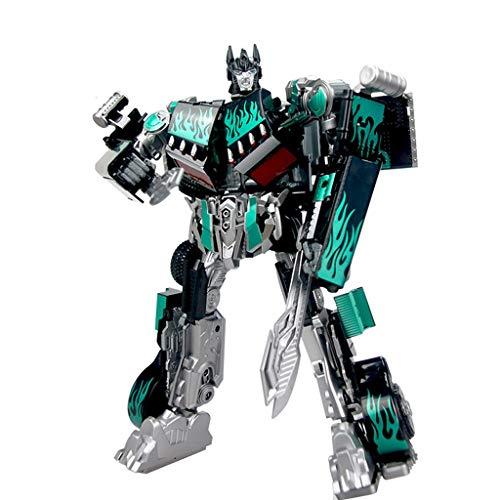 FH WJ-Spielzeug/Verwandelndes Spielzeug King Kong 5 Optimus Dark Neulackierung Ton und Licht Roboter Modell Spielzeug High-End-Geschenke -