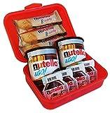 Geschenk Set Lunch Box mit Ferrero Nutella Spezialitäten (9-teilig)