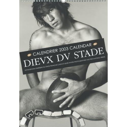 Calendrier 2003 : Les Dieux Du Stade