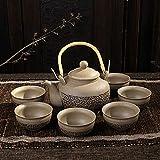 GBCJ Hochwertige Geschenke Liliang Topf große Tasse Keramik Tee-Set hochwertige Geschenke für Nationalfeiertag der Alten Keramiku