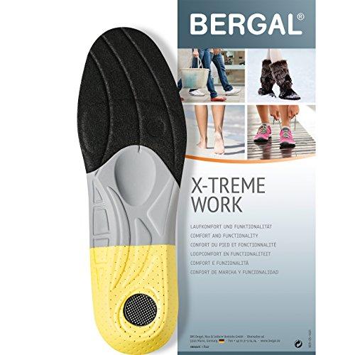 Bergal X-TREME Work - Einlegesohlen - anatomisch geformtes Fussbett Gr. 36