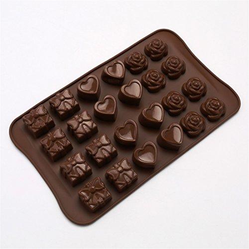 Askcut Moldes para hacer dulces de chocolate