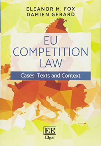 EU Competition Law por Eleanor M. Fox