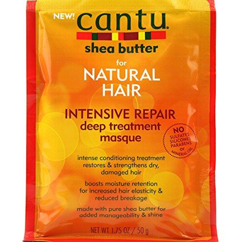 Cantu Shea Butter Intensive Repair Deep Treatment Masque for Natural Hair 1.75oz 50g (Repair Deep Treatment Intensive)