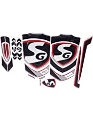 3 X SG Batte de cricket fabriqué sur mesure Lot d'autocollants (Comprend 3 ensembles de batte Stickers)