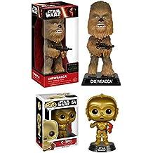 Funko Star Wars Episodes VII: Chewbacca + C-3PO – Stylized Vinyl Figure Set NEW