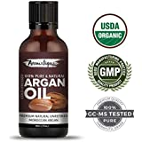 [Sponsored]Argan Moroccan Cold Pressed Organic 100% Pure And Natural Essential Oil For Face,Skin,And Hair Care From Aromatique...