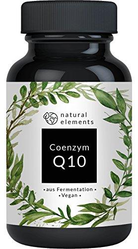Coenzym Q10 - Aktionspreis - 200mg pro Kapsel - 120 vegane Kapseln - Premium Q10 aus pflanzlicher Fermentation – Laborgeprüft, hochdosiert, vegan & hergestellt in Deutschland