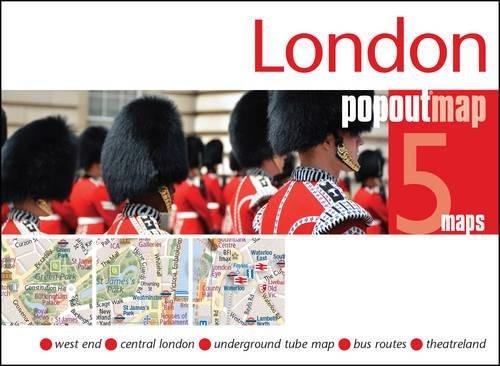 London Popout Map (Popout Maps) por PopOut Maps