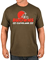 "Cleveland Browns Majestic NFL ""Come Out Fighting"" Men's Short Sleeve T-shirt Chemise"