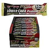 Power System LOW er CARB Protein Riegel mit 45% Eiweiss - Bar 28 x 40g (Lemon-Cheesecake)