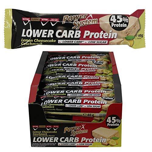 CARB Protein Riegel mit 45% Eiweiss - Bar 28 x 40g (Lemon-Cheesecake) ()