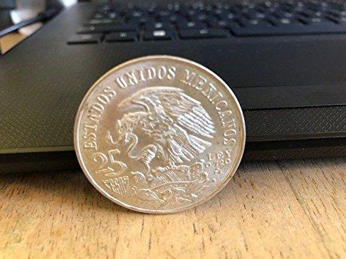 TGBCH Mexiko 1968 Mexiko 25 Pesos Olympiade. 0.720 Silbermünze (Mexiko Peso)