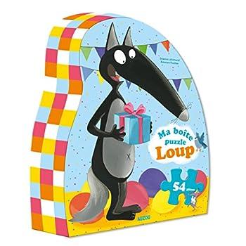 Ma boîte puzzle Loup : 54 pièces
