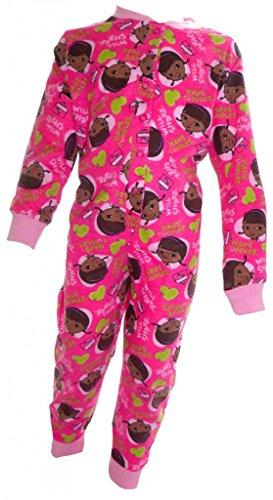 Doc McStuffins, Spielzeugärztin Deep Pink Mädchens Sleepsuit Onesie Alter 2-3 Jahre