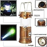 #9: Virat Led Solar Emergency Light Lantern , High Light Torch , Usb Mobile Charger, 3 Power Source Solar, Lithium Battery, Black