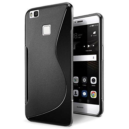 Conie Huawei P9 Lite Hülle, [S Line Series] Soft Flex TPU Case Ultradünn Echtes Telefongefühl handyhüllen PC Bumper Cover Schutz Tasche Schale Schutzhülle, Huawei P9 Lite (5,2 Zoll (13,2 cm)