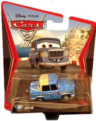 Disney Pixar Cars 2 Otis # 43 - Voiture Miniature Echelle 1:55