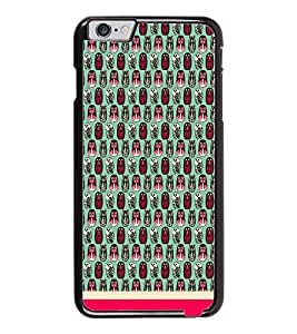 PrintDhaba Owl Pattern D-1686 Back Case Cover for APPLE IPHONE 6 PLUS (Multi-Coloured)