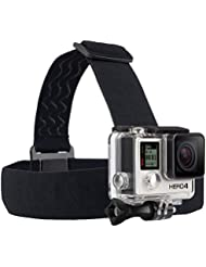 GoPro Fixation frontale + QuickClip pour caméra embarquée GoPro - Noir