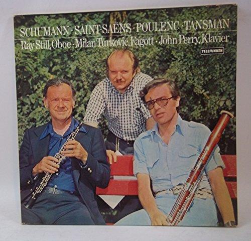 Ray Still, Milan Turkovic, John Perry - Schumann, Saint-Saëns, Poulenc, Tansman - Telefunken - 6.42081 AW