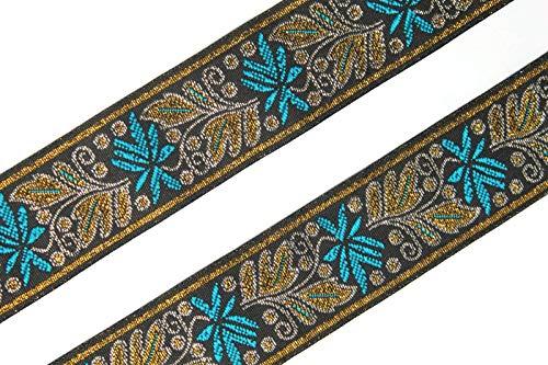 Idukaancrafts Blumenmuster Kleid Schleifenband 7 Yd 3,8 cm breit