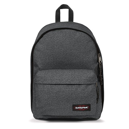 Eastpak out of office, zaino casual unisex - adulto, grigio (black denim), 27 liters, taglia unica (44 centimeters)