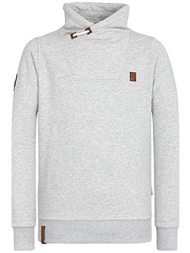 Naketano Male Sweatshirt Congenialer Pimmel II Grey Melange