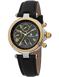Burgmeister Armbanduhr für Damen mit Analog Anzeige, Automatik-Uhr und Lederarmband - Wasserdichte Damenuhr mit zeitlosem, schickem Design - klassische, elegante Uhr für Frauen - BM216-222 Laredo