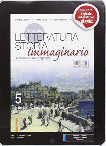 Il nuovo letteratura storia immaginario. Per le Scuole superiori. Con e-book. Con espansione online: 5