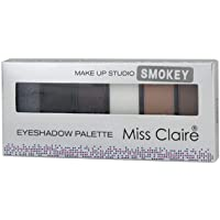 MISS CLAIRE Makup Studio Eyeshadow Palette For Women & Girls (Smoky)