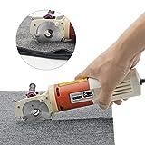 cgoldenwall YJ di 65 portatile elettrico panno forbici rotondo Coltello taglio macchina tessuto Cutter Forbici Lama diametro 65 mm 220 V