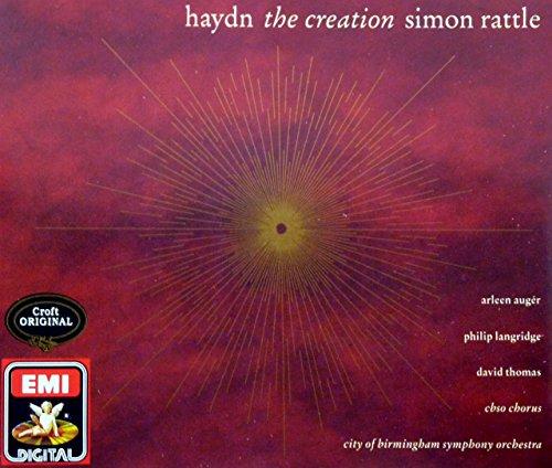 Thomas Creations-box (HAYDN: THE CREATION / DIE SCHOPFUNG - SIMON RATTLE - 2CD BOX SET / 1991 EDITION)