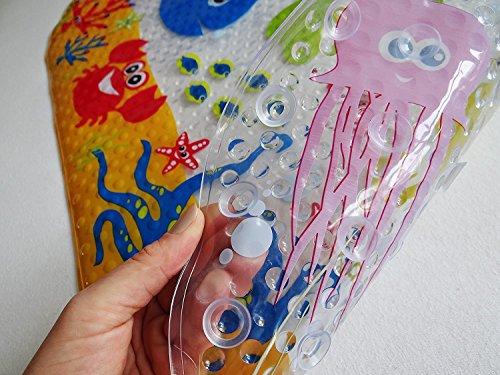 Disegno Bagno Per Bambini : Salinka tappetino antiscivolo da bagno per bambini con molte