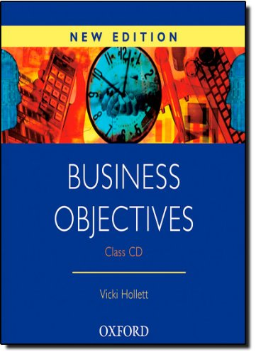 Business Objectives New Edition: Business Objectives: Class CD (1) New Edition: Class Audio CD