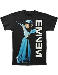 Eminem - Camiseta - Hombre - Eminem - Uomo On The Mic (Camiseta) 2cc43d4b168