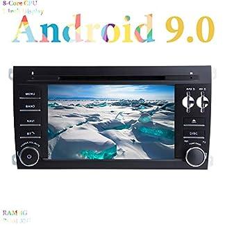 XISEDO-7-Android-90-Autoradio-8-Core-RAM-4G-ROM-32G-GPS-Navigation-mit-DVD-Player-In-Dash-Car-Radio-fr-Porsche-Cayenne-2003-2010