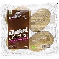 Herzberger Bäckerei Dinkelbrötchen, 6er Pack (6 x 200 g)