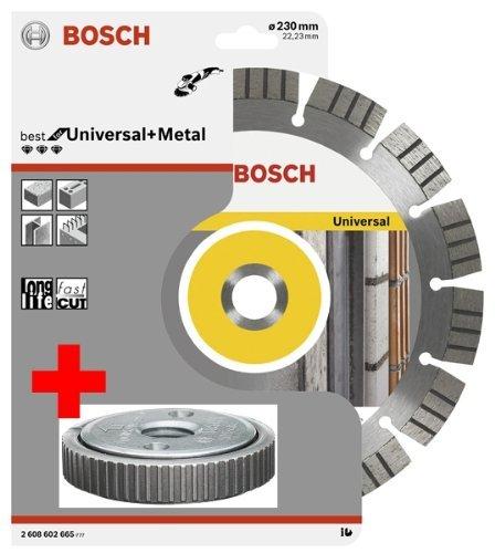 Preisvergleich Produktbild Bosch Diamanttrennscheibe 230 mm Universal+Metal inklusive SDS-Clic Spannmutter