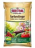 Substral Naturen Bio Garten, Universal, natürlicher Volldünger für Obst- Gemüse- und Zierpflanzen, 4 kg