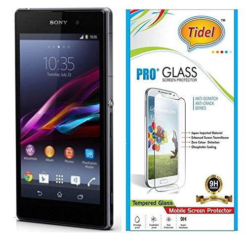 Tidel 0.3mm Curved Tempered Glass Screen Guard Protector For Sony Xperia Z1  available at amazon for Rs.105