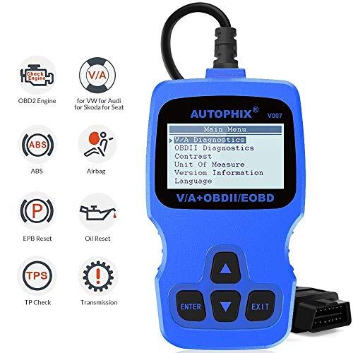 OBD2 Auto-Diagnosescanner Automotive Motor prüfen ABS SRS Öl Service-Reset Auto Scanner Diagnose-Tool