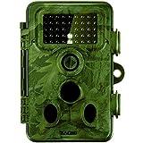 Zacro Wildkamera 120 Grad Weitwinkel Vision Tierbeobachtungskamera 12MP 1080P Full HD Jagdkamera Infrarote 20m