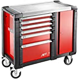 JET.T6M3 FACOM JET 6 DRAWER MOBILE WORKBENCHES - 3 MODULES PER DRAWER RED 1154X546X1000MM HIGH