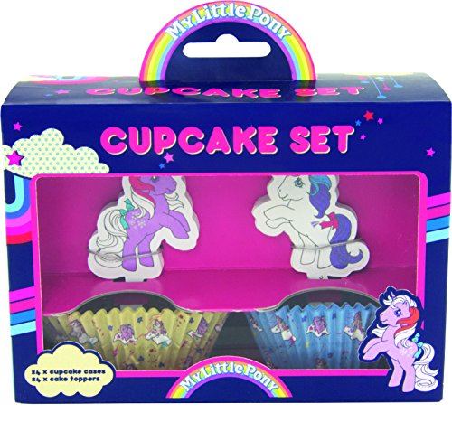 My little Pony Cupcake Topper mit Cupcake Fällen