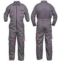 Grey Work Wear - Traje de caldera para hombre, diseño de calderas